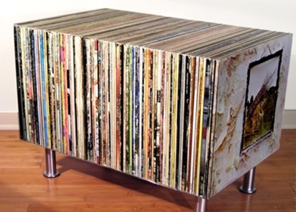 album art coffee table