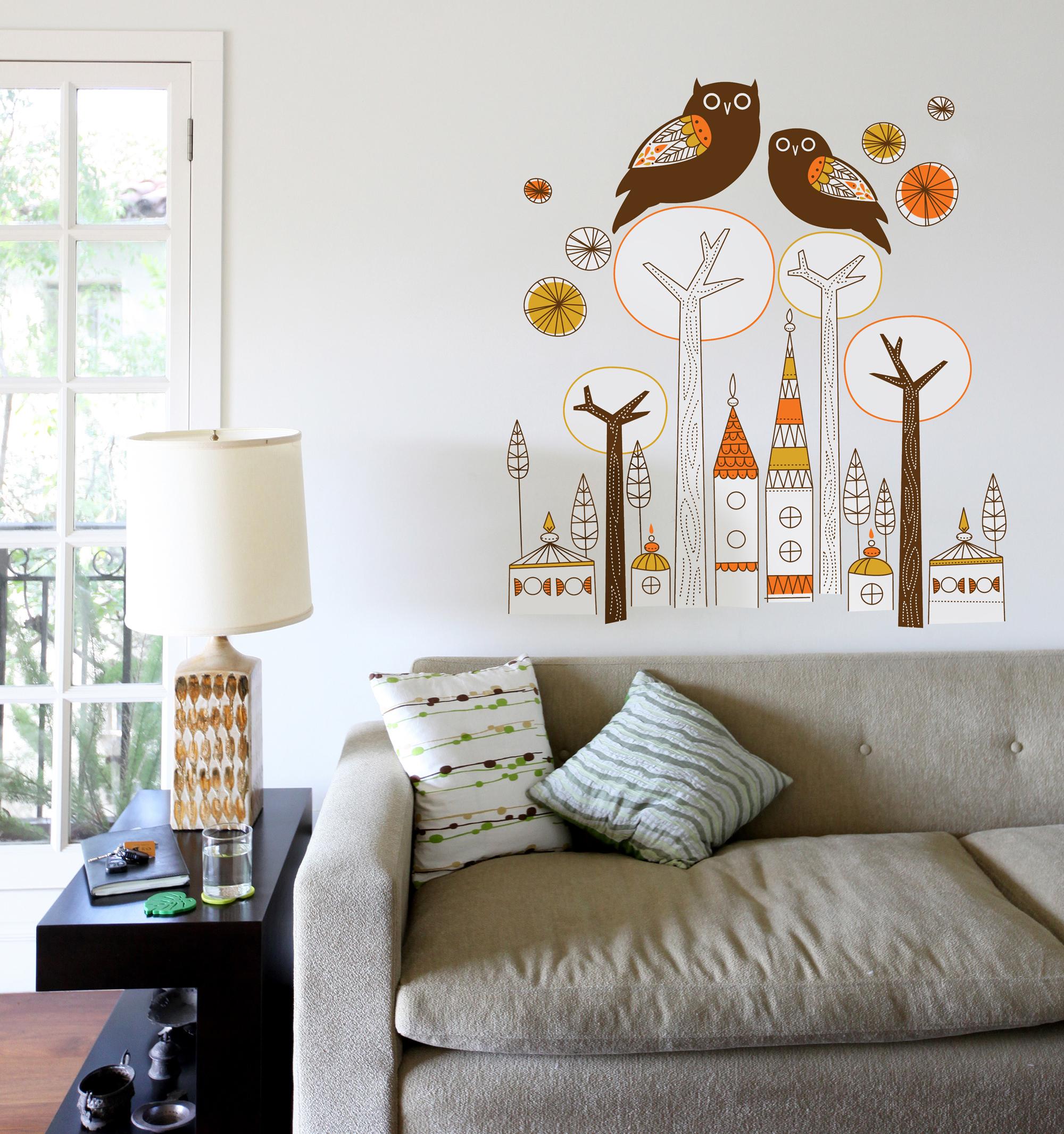 an art mural