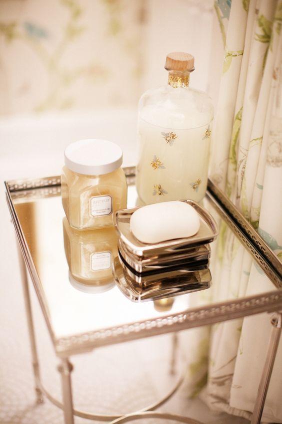 fancy bath products